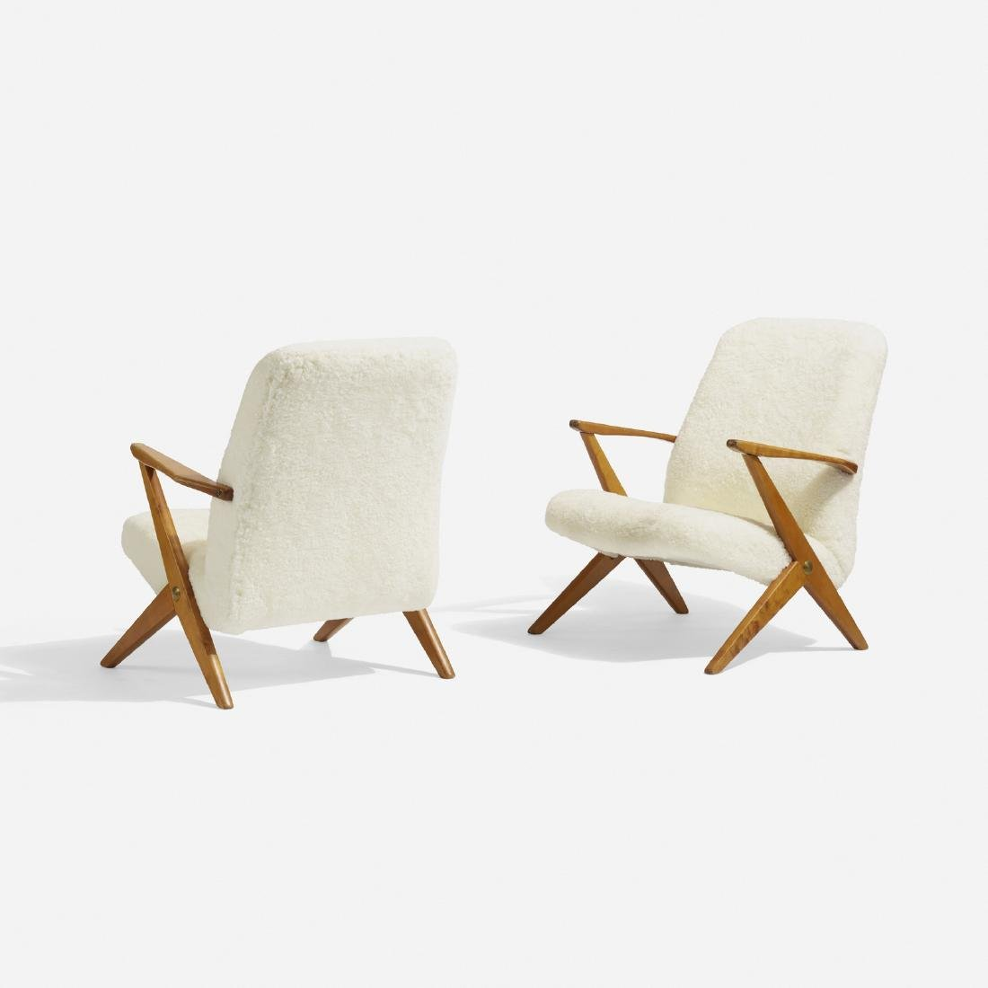 Bengt Ruda, lounge chairs, pair - 2