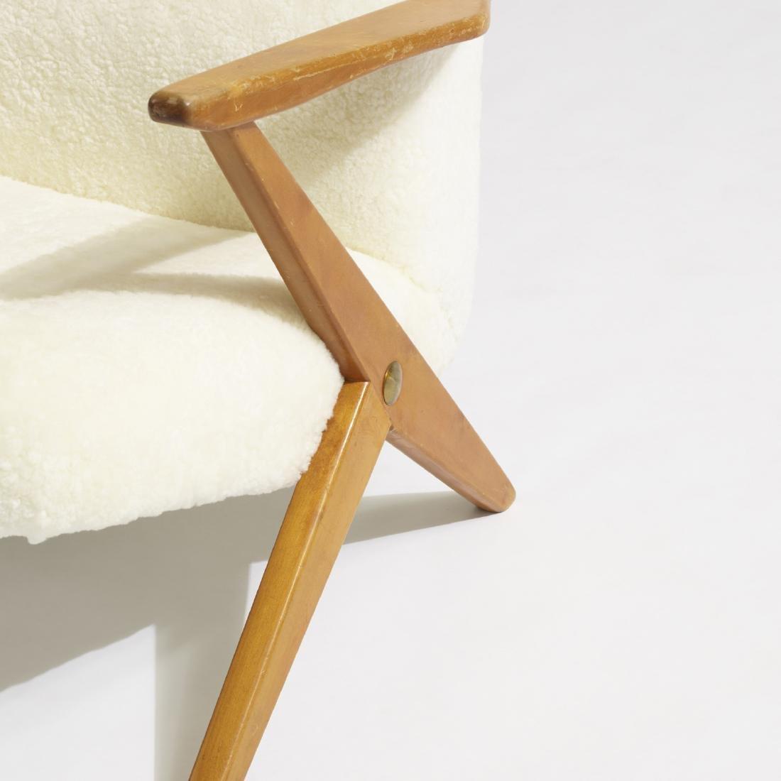 Bengt Ruda, lounge chairs, pair - 4