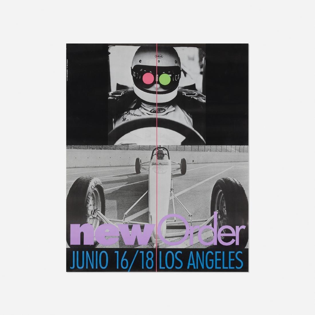 John Baldessari, New Order poster