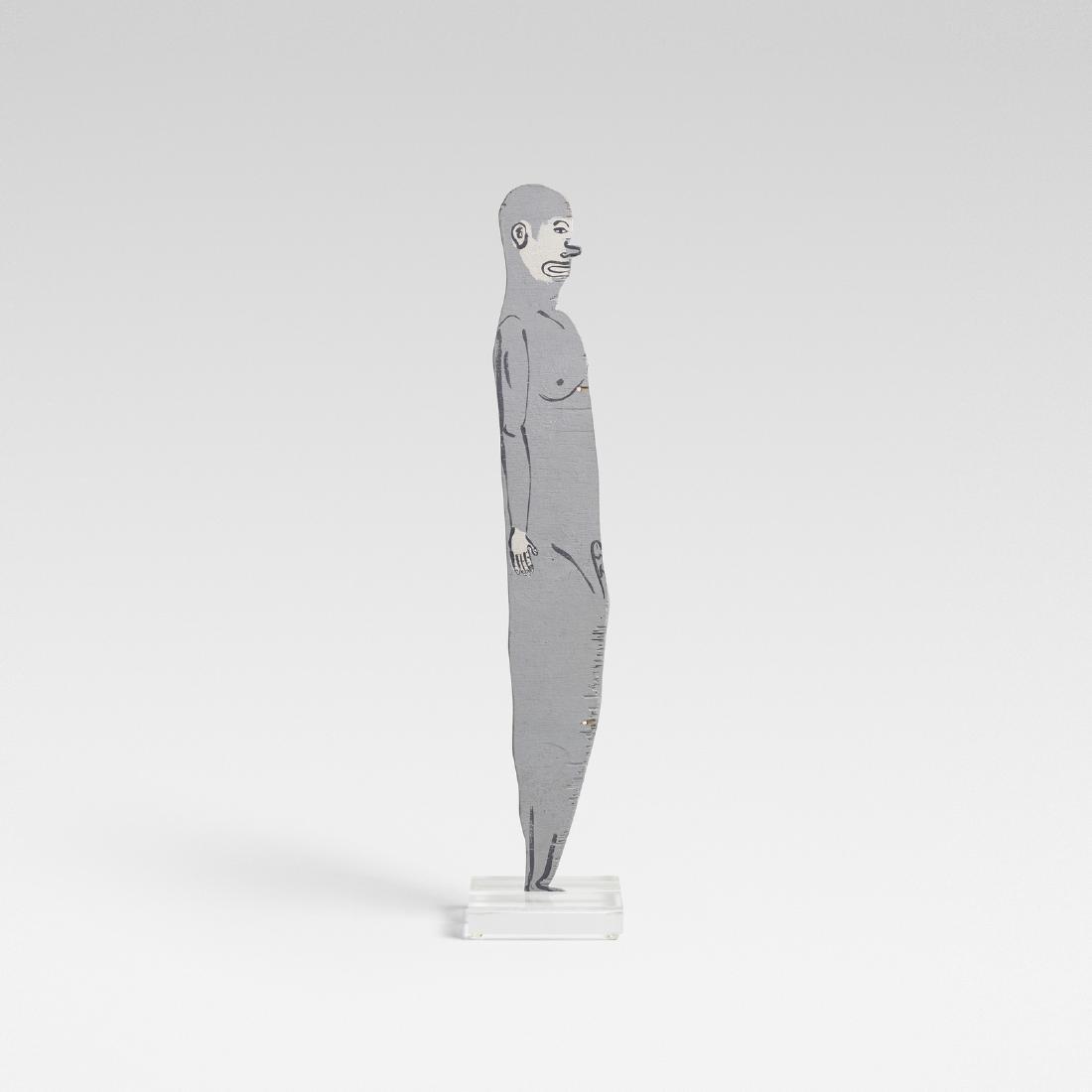 Chris Johanson, Untitled (Man)