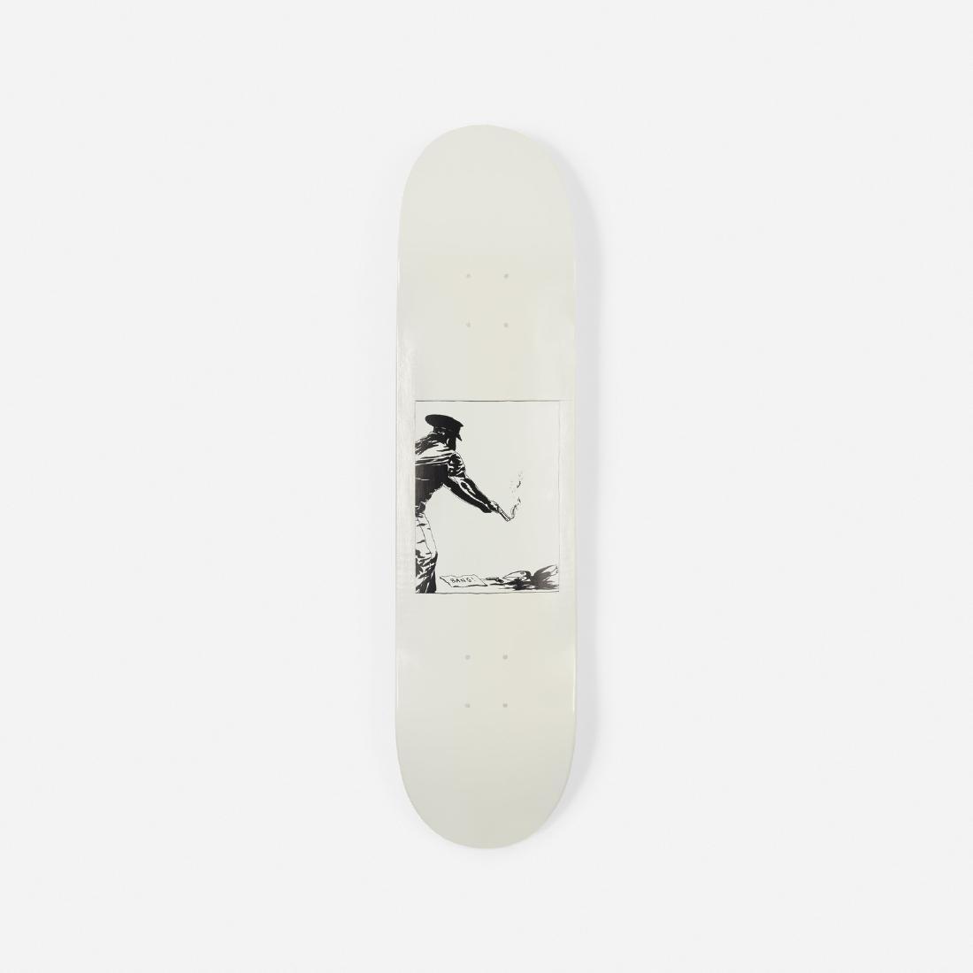 Raymond Pettibon, skateboard deck