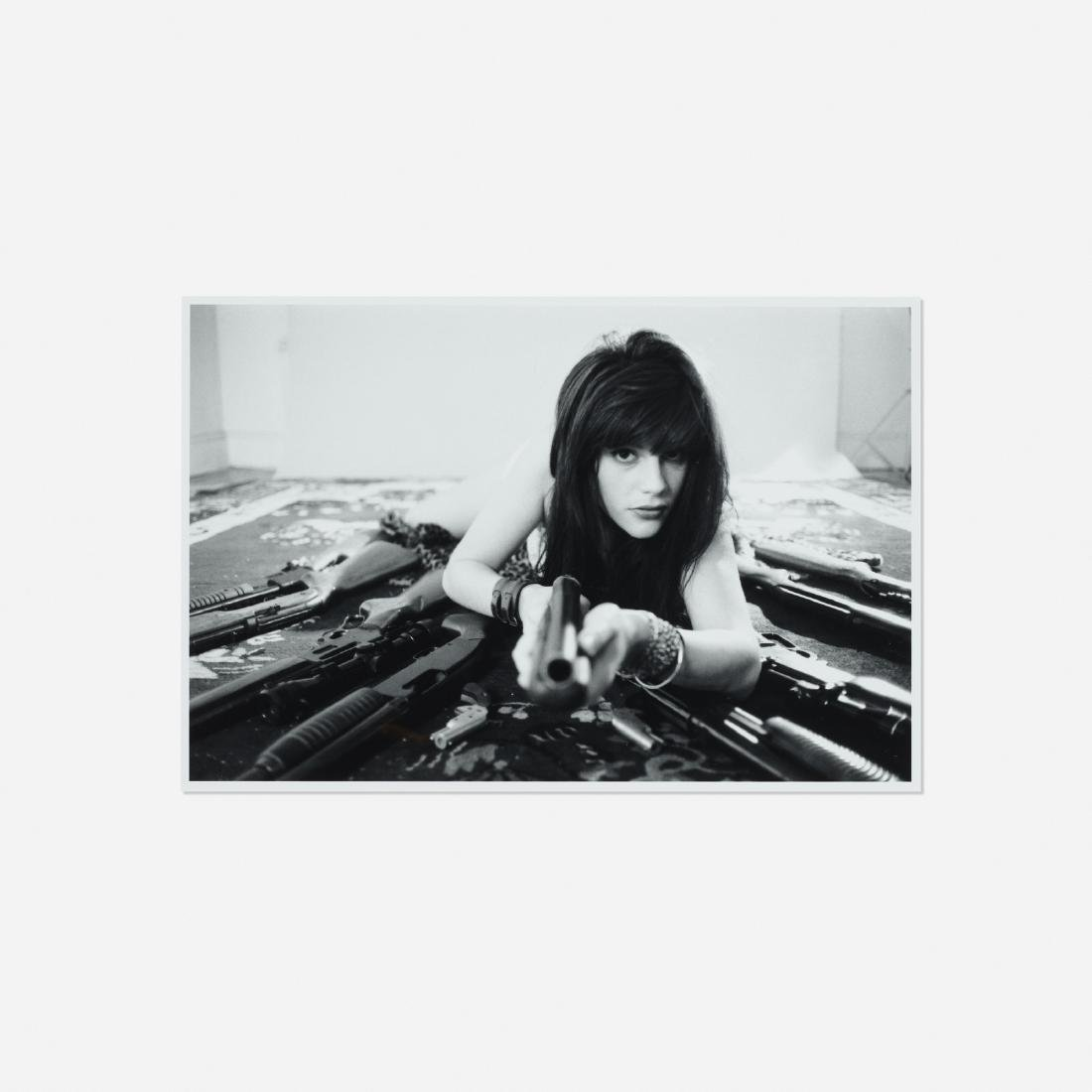 Richard Kern, Cristina with Guns (Alternate)