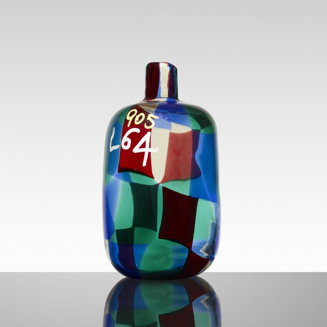 Fulvio Bianconi, prototype Pezzato vase, model 905 L64 - 2