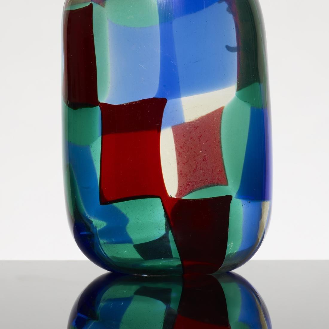 Fulvio Bianconi, prototype Pezzato vase, model 905 L64 - 3