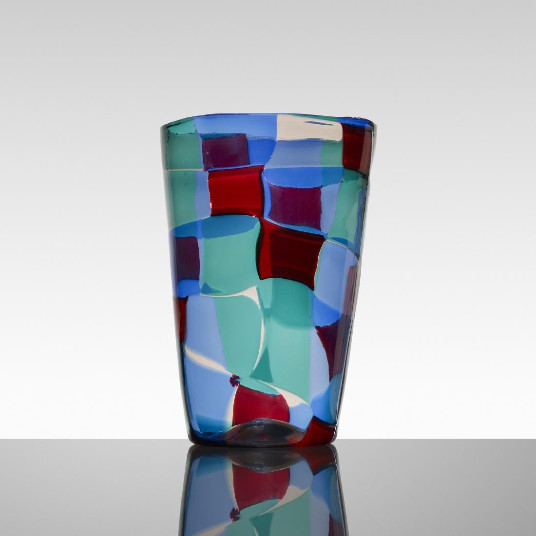 Fulvio Bianconi, Pezzato vase, model 1329