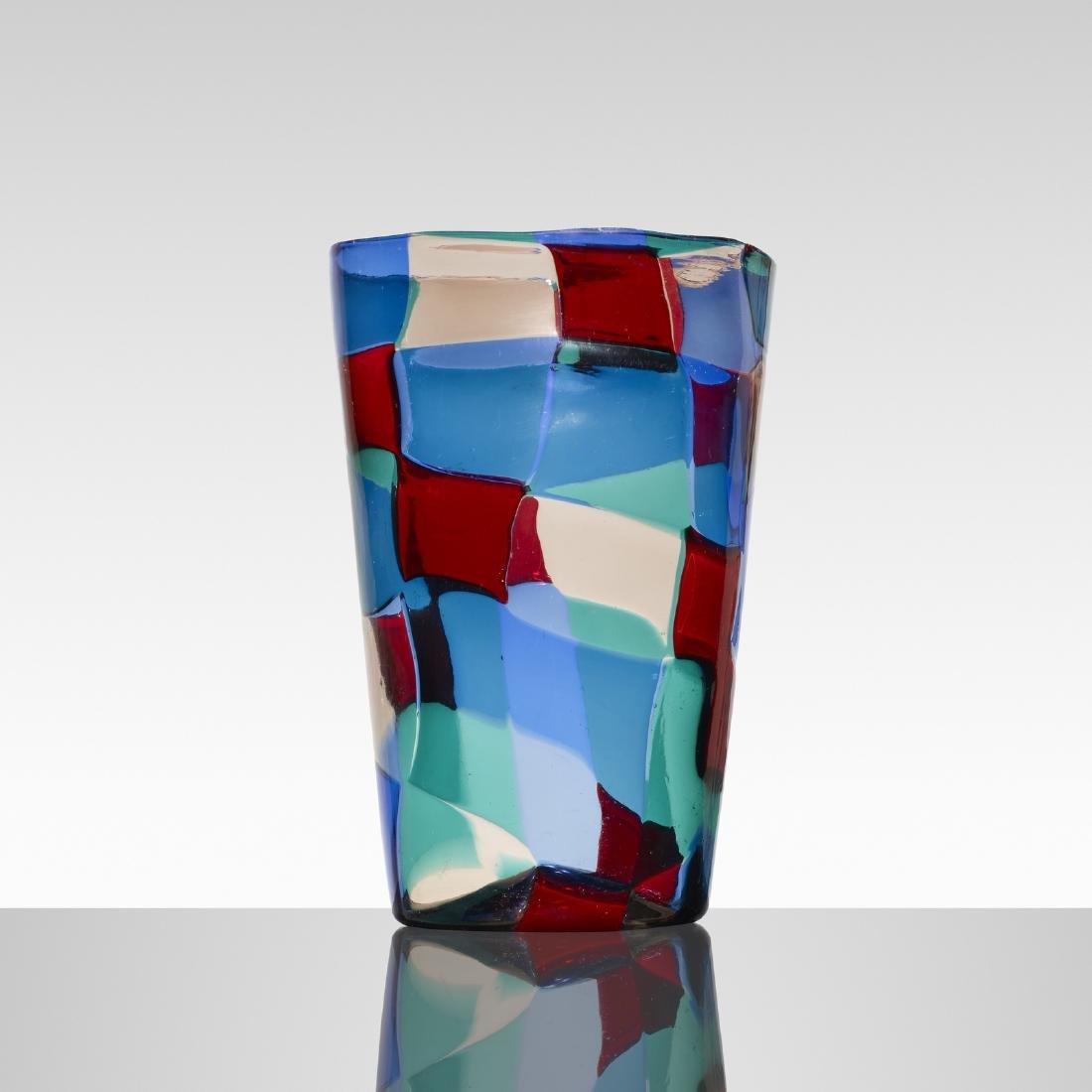 Fulvio Bianconi, Pezzato vase, model 1329 - 2