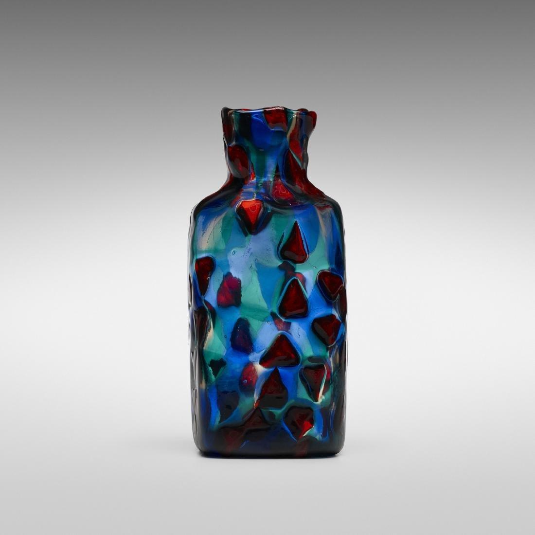 Fulvio Bianconi, Rare Pezzato vase, model 3541