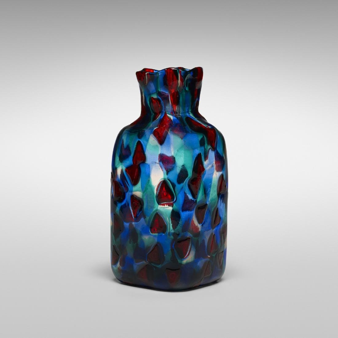 Fulvio Bianconi, Rare Pezzato vase, model 3541 - 2
