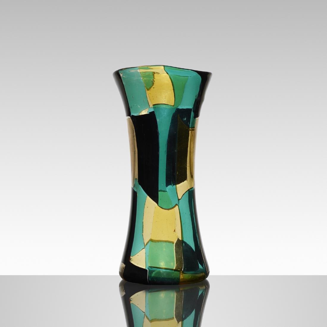 Fulvio Bianconi, Pezzato Americano vase, model 4398