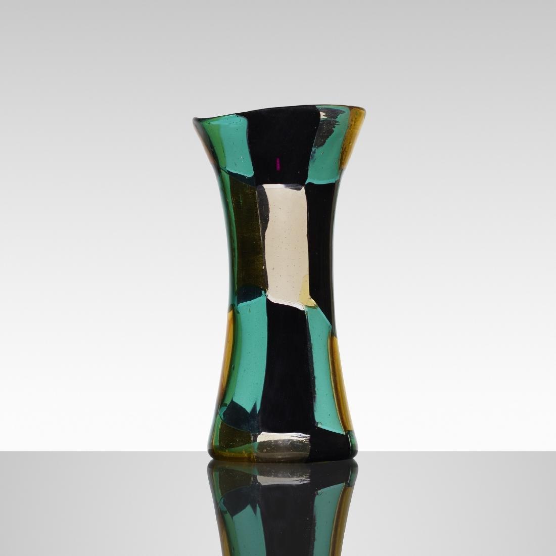 Fulvio Bianconi, Pezzato Americano vase, model 4398 - 2