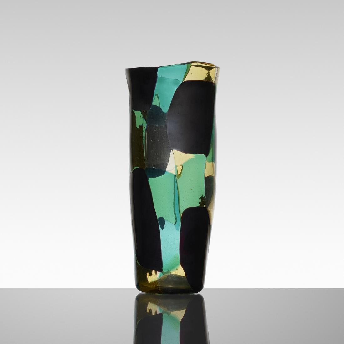 Fulvio Bianconi, Pezzato Americano vase, model 4406