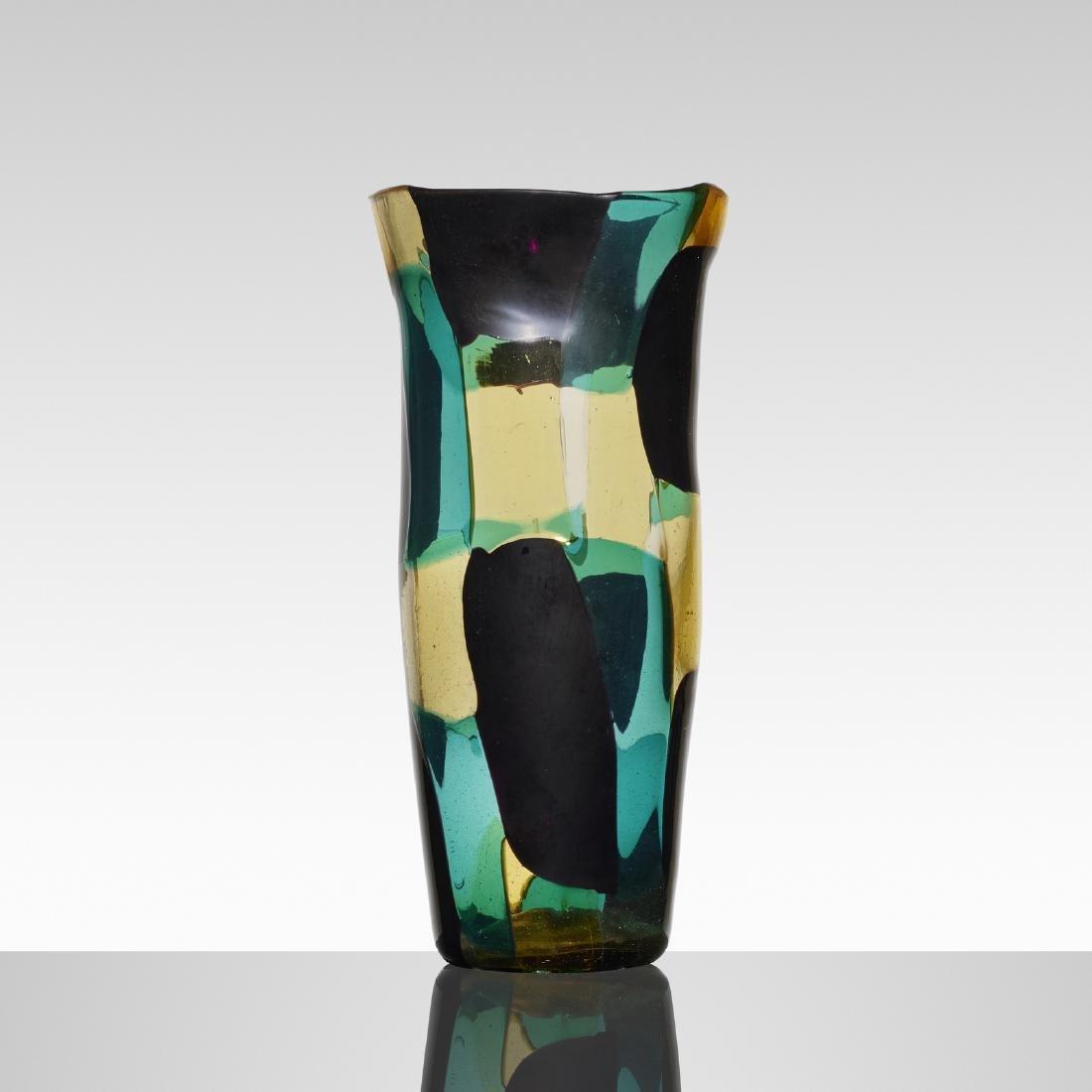 Fulvio Bianconi, Pezzato Americano vase, model 4406 - 2