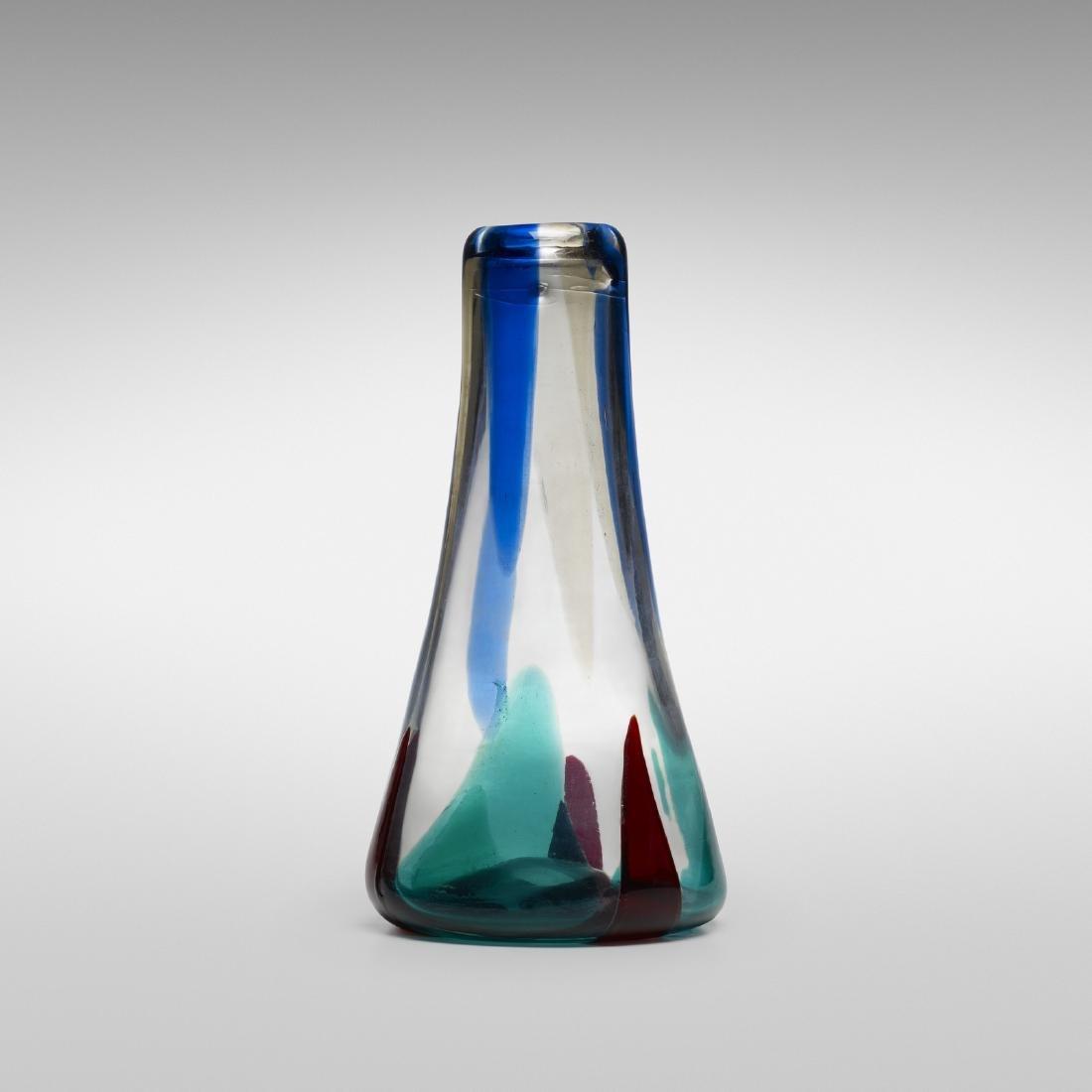 Fulvio Bianconi, Rare Pezzame vase, model 4394