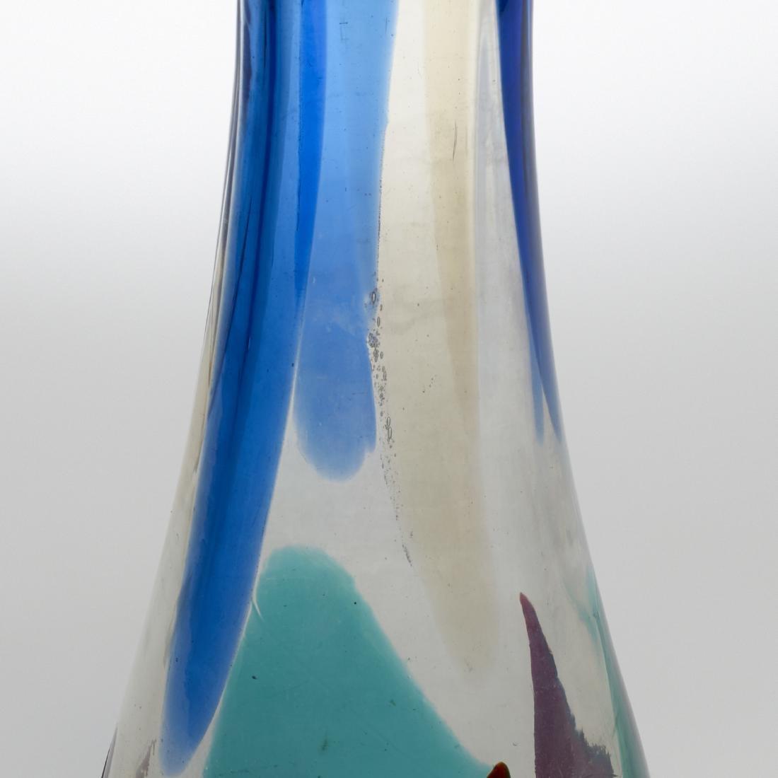 Fulvio Bianconi, Rare Pezzame vase, model 4394 - 2