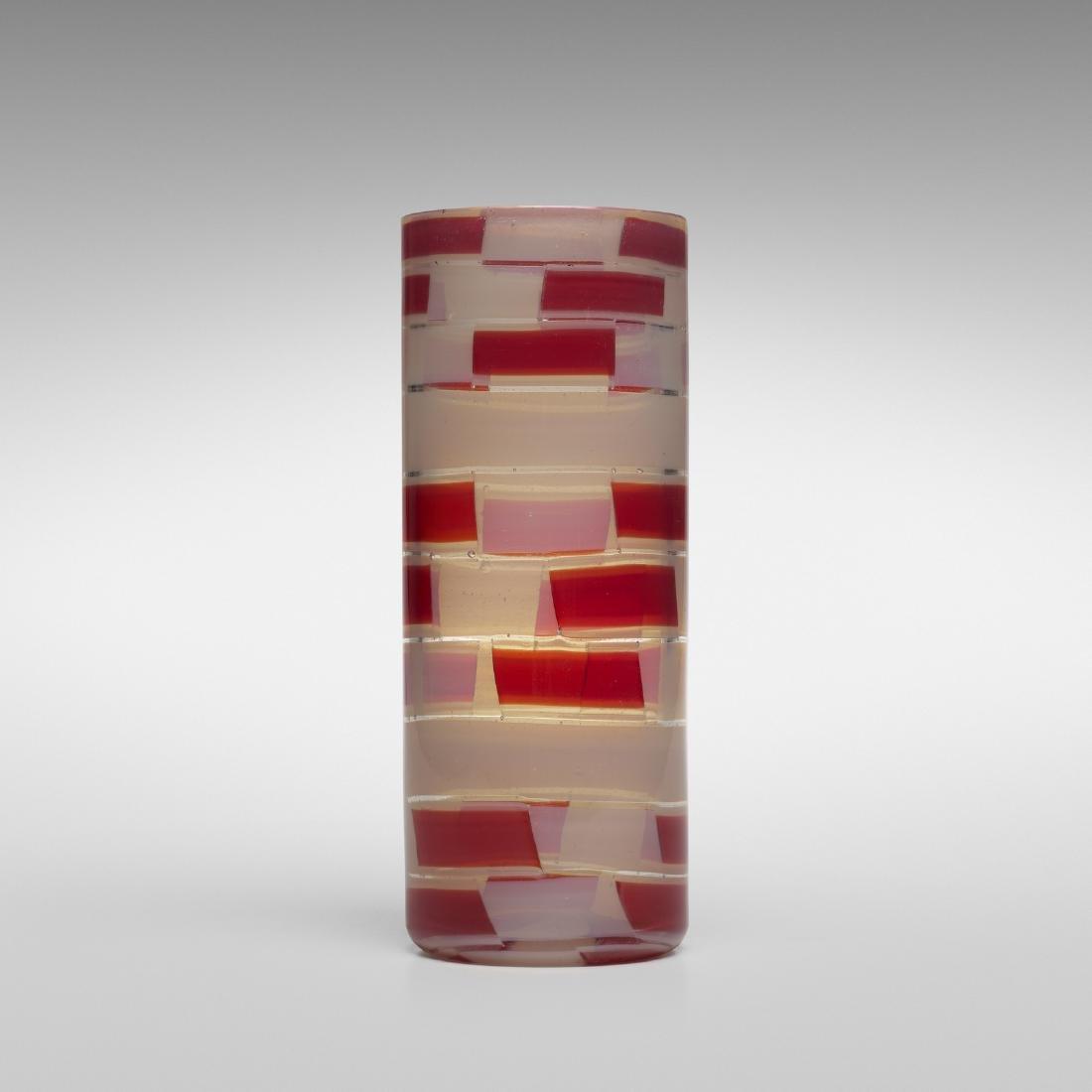 Ercole Barovier, Pezzato vase