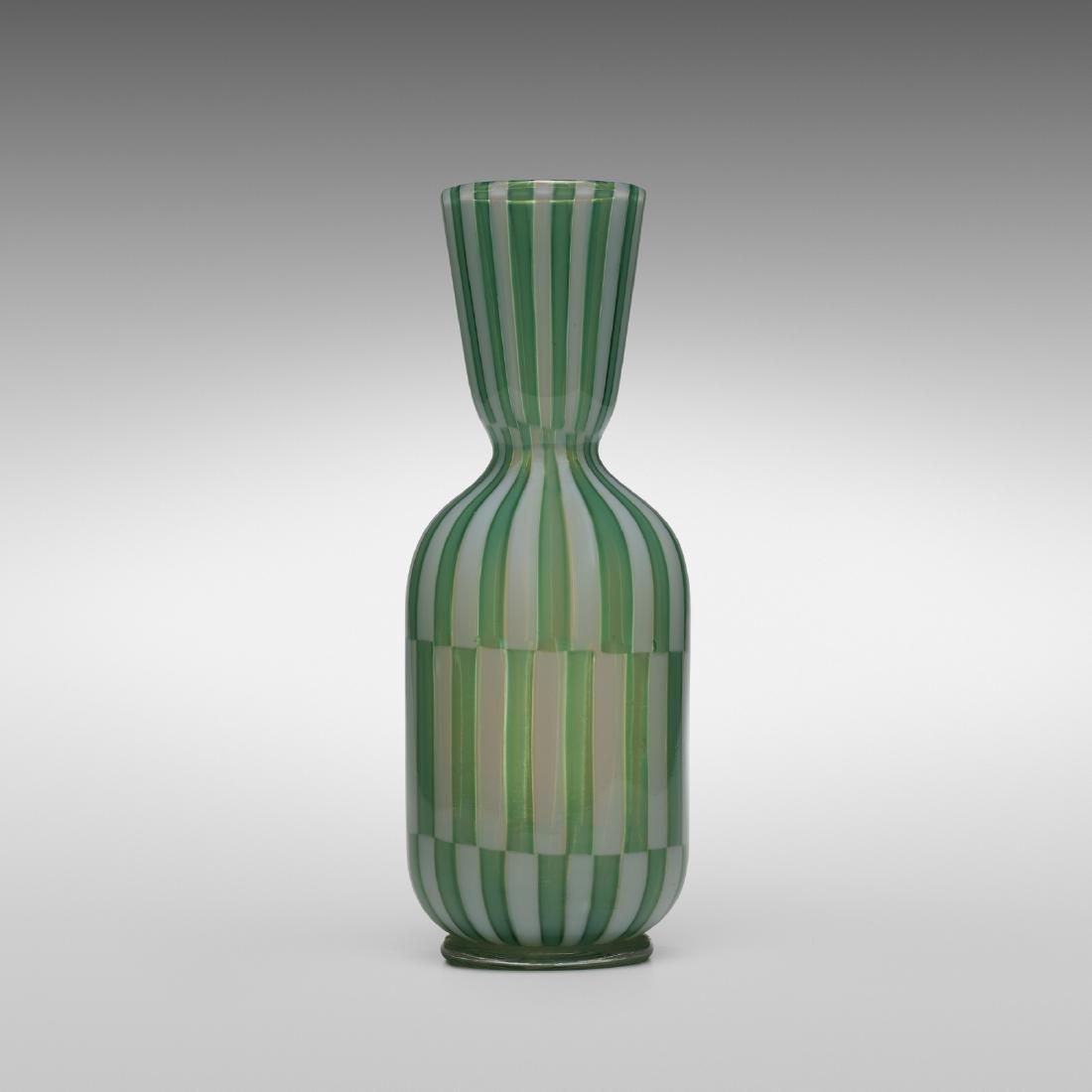 Ercole Barovier, Bicolori vase