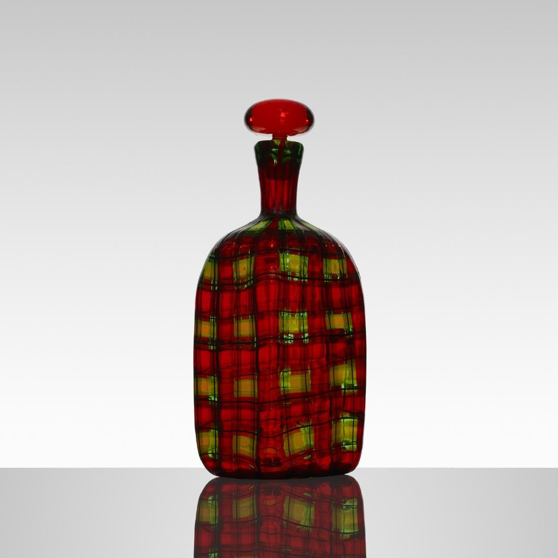 Ercole Barovier and Christian Dior, bottle with stopper