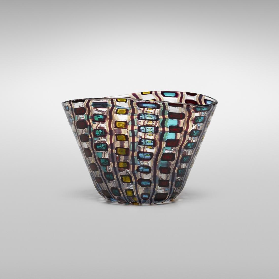 Ercole Barovier, Diamantati bowl