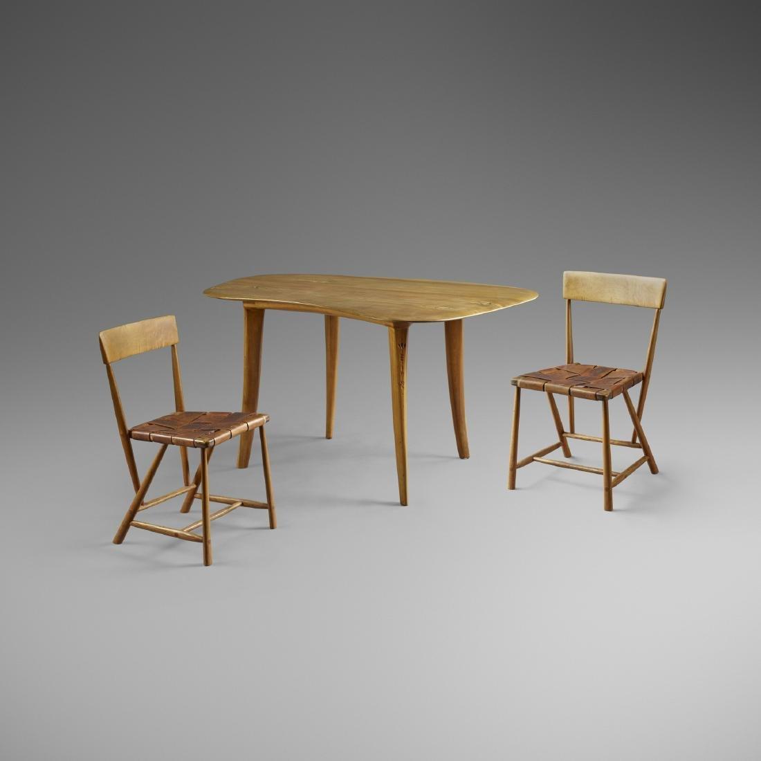 Wharton Esherick, dining table, Seiver Collection - 3