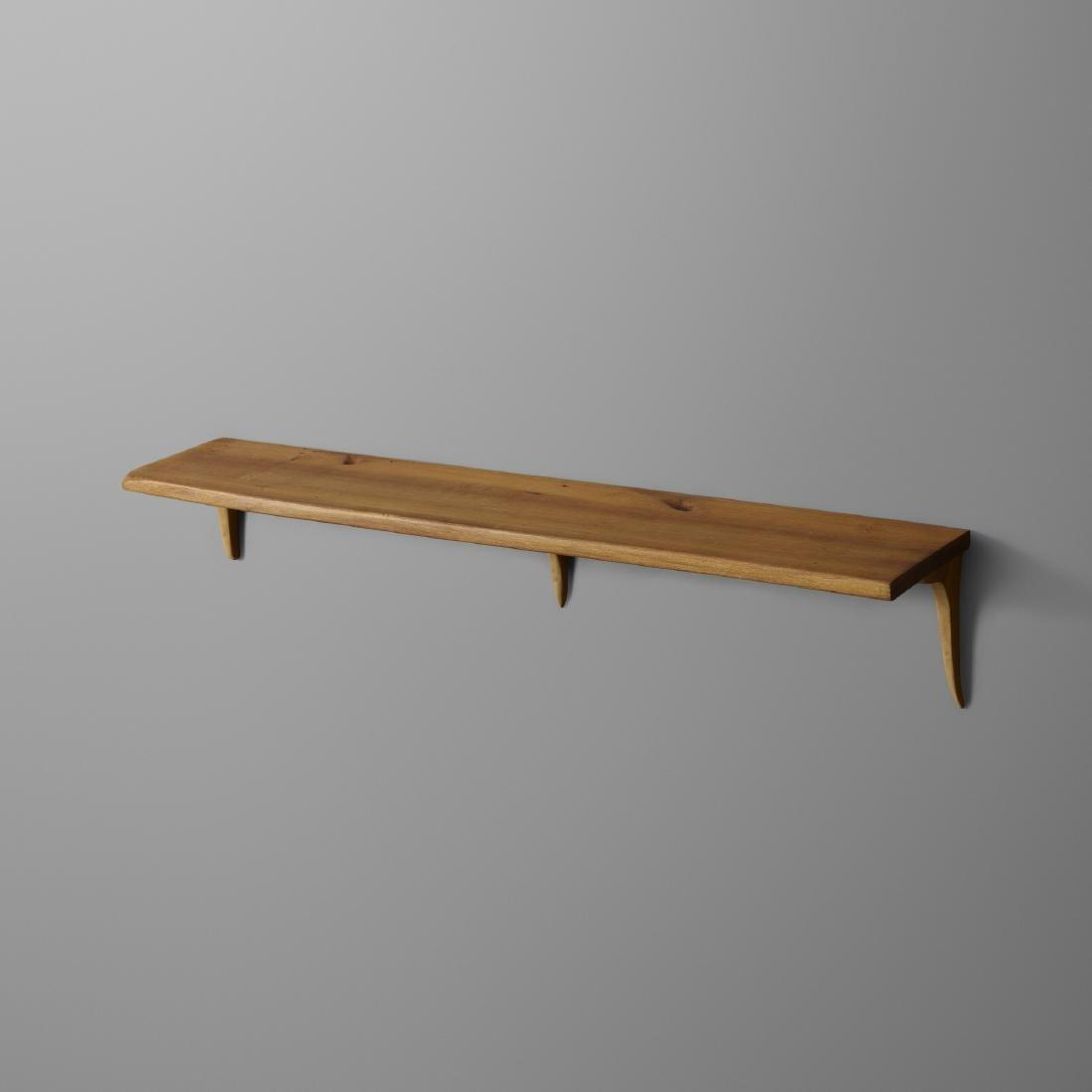 Wharton Esherick, wall-mounted shelf, Seiver Collection