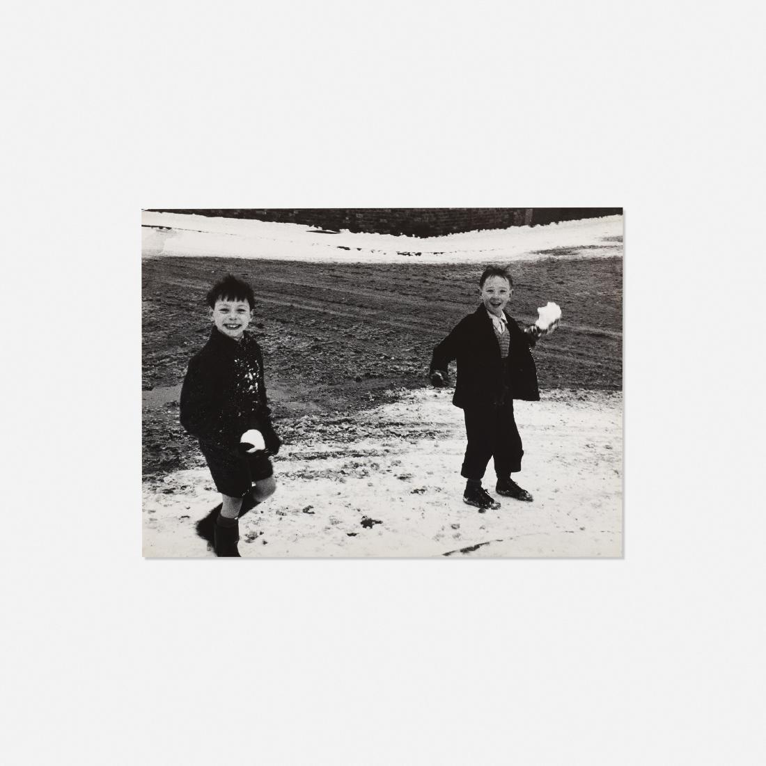 Roger Mayne, Children in Snow, London