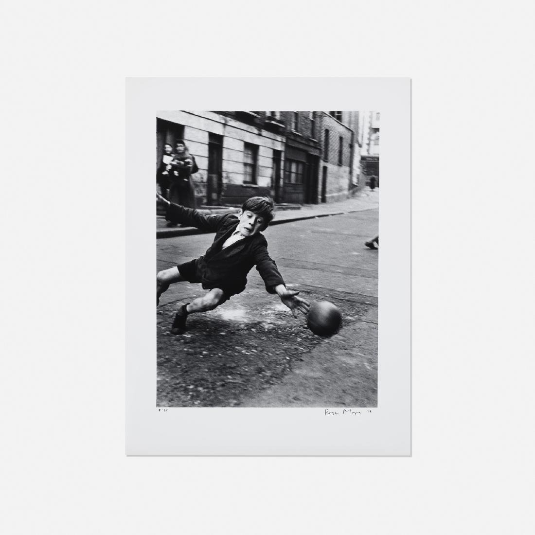 Roger Mayne, Goalie, Street Football, Brindley Rd.