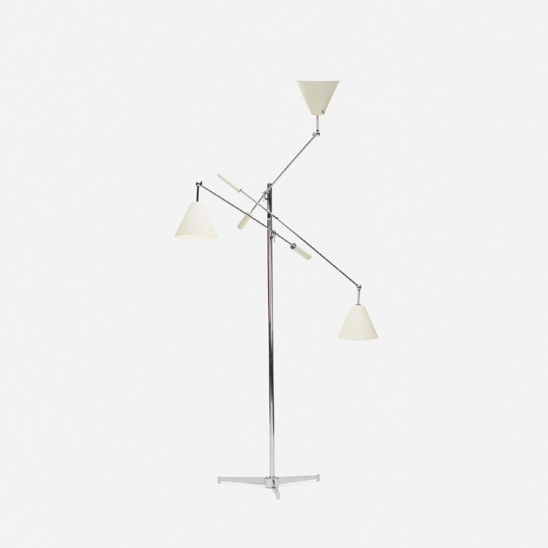 Angelo Lelii, Triennale floor lamp, model 12128