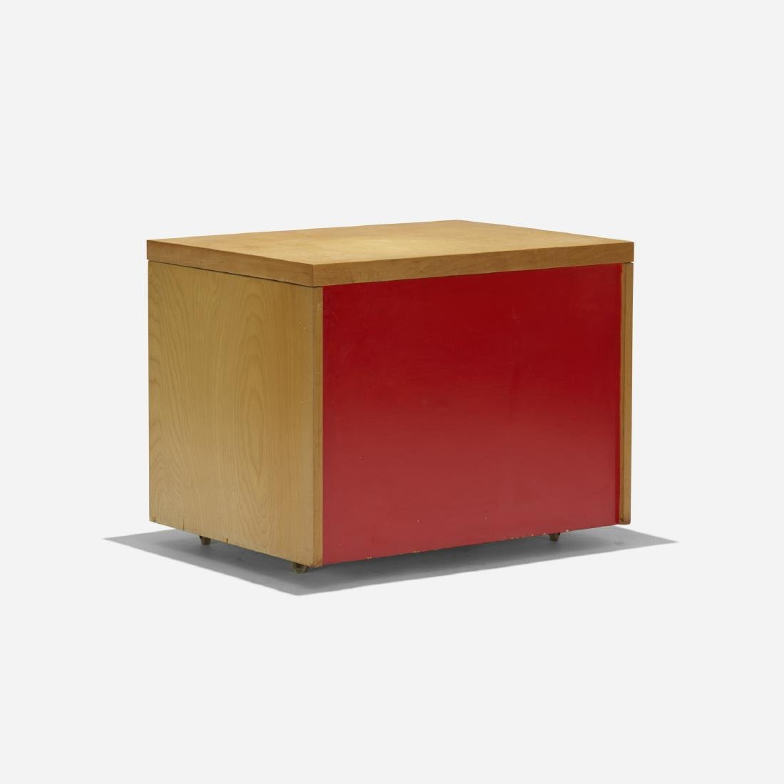 Paul Rand, custom rolling cabinet for the Rand House