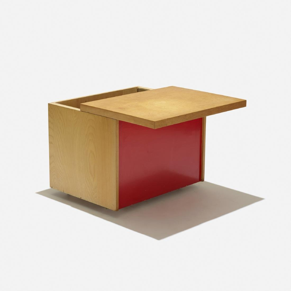 Paul Rand, custom rolling cabinet for the Rand House - 2