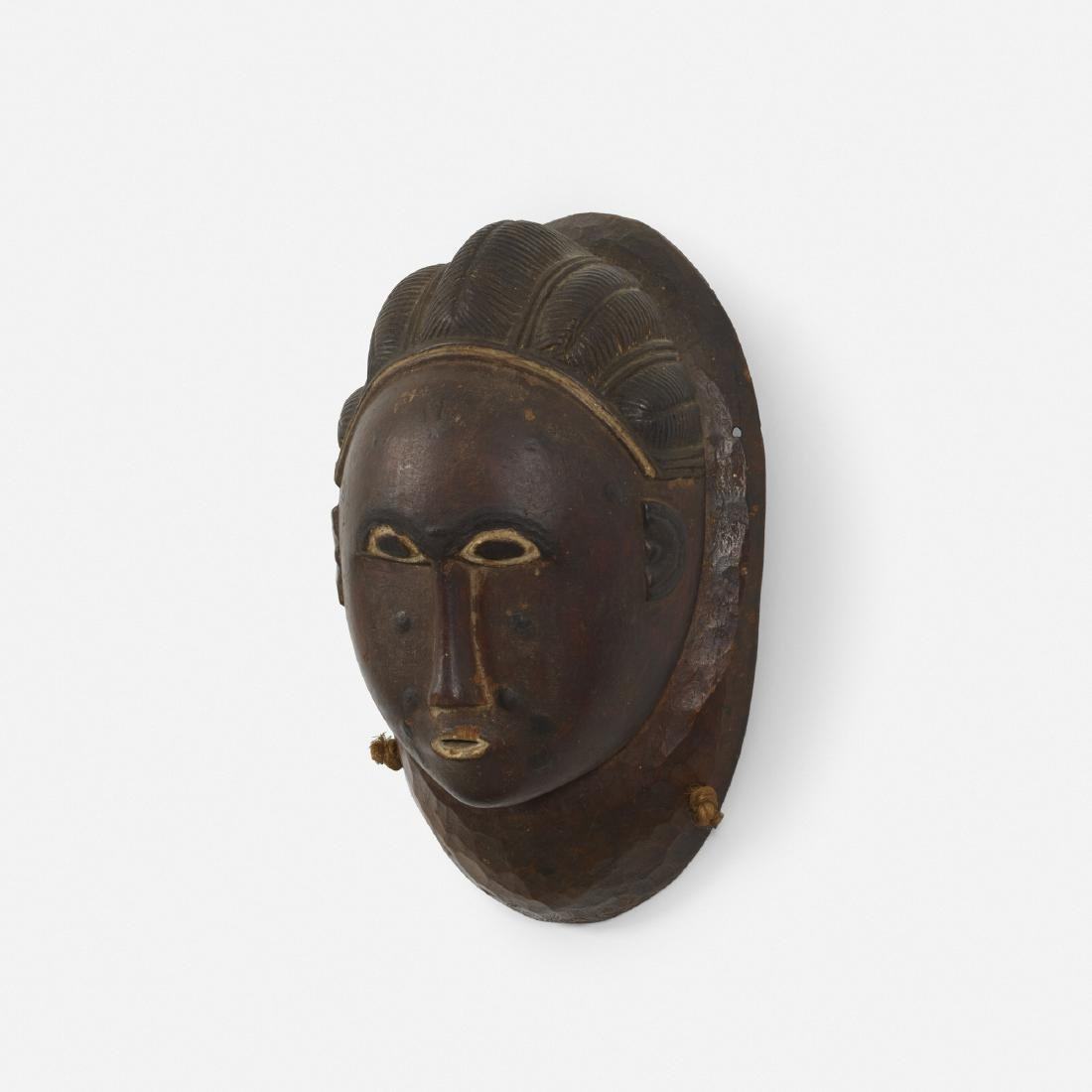 Baule artist, mask
