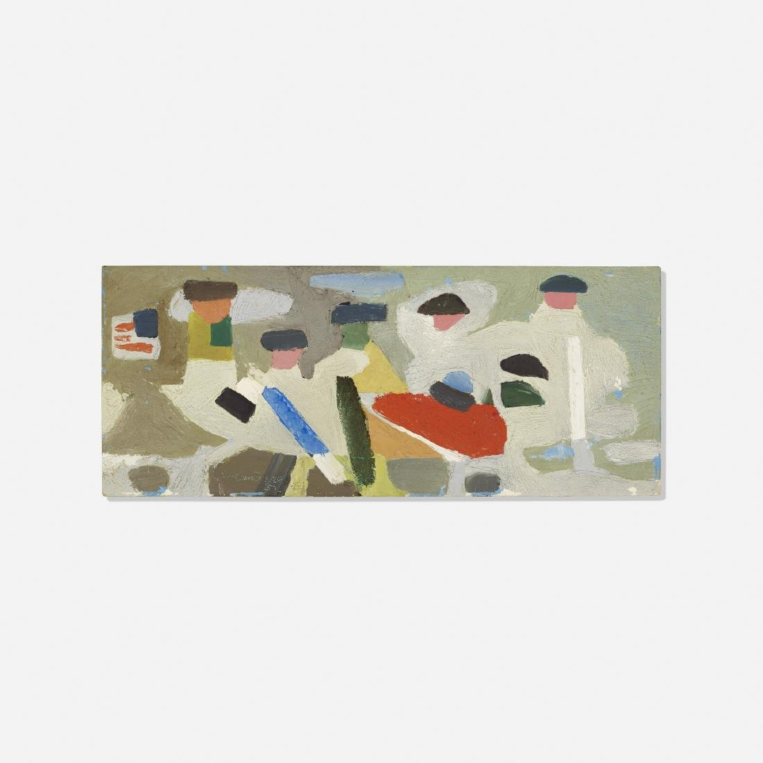 Paul Rand, Untitled (Washington Crossing the Delaware)
