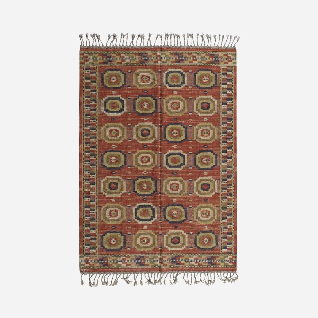Marta Maas-Fjetterstrom, Roda Attan flatweave carpet