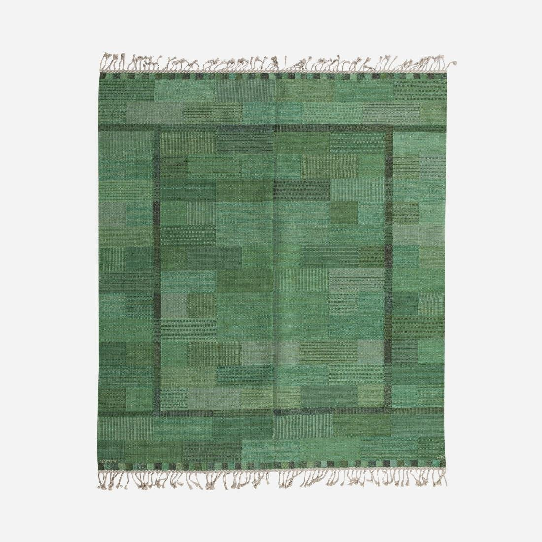 Marianne Richter, Fasad flatweave carpet