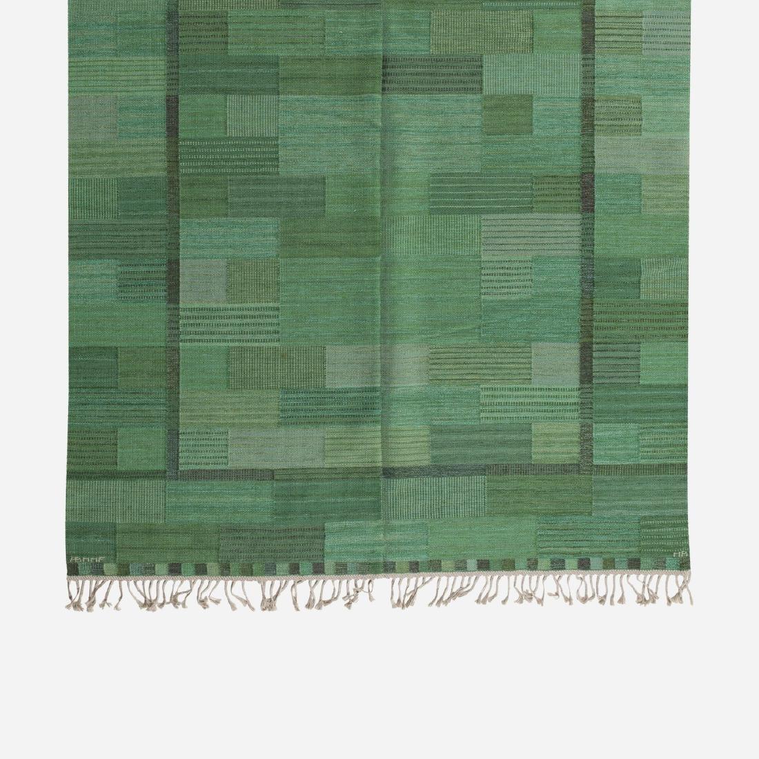 Marianne Richter, Fasad flatweave carpet - 2