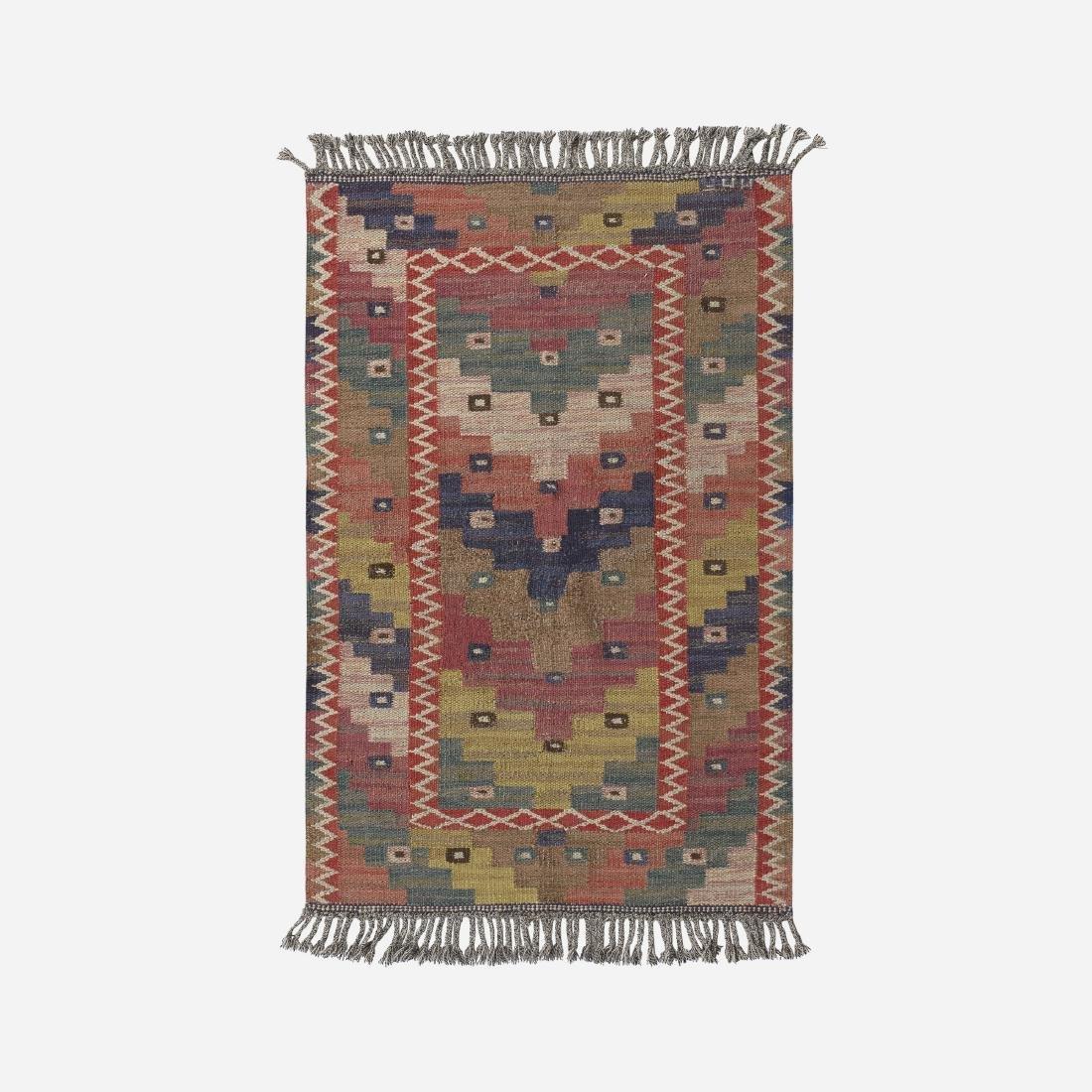 Marta Maas-Fjetterstrom, flatweave carpet
