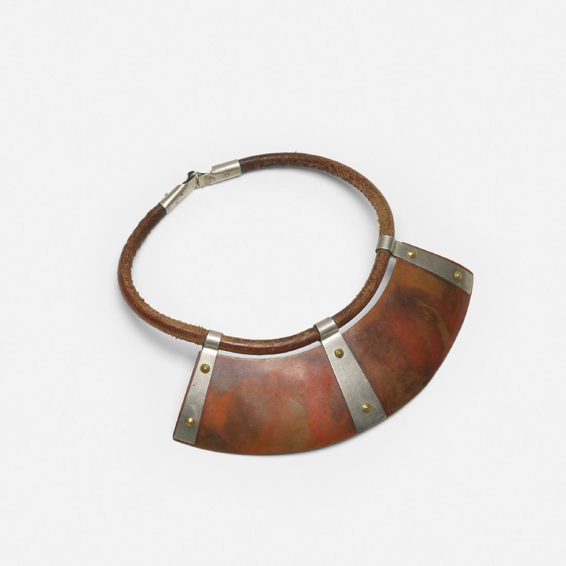 Wiener Werkstatte, Rare necklace