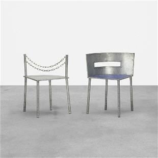Rei Kawakubo, Rare chairs, set of two