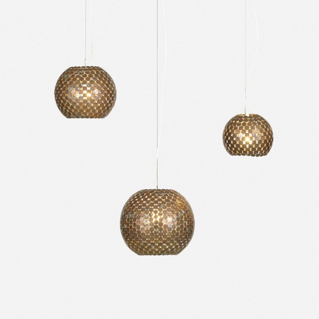 Mungo Thomson, Coin lamps, set of three