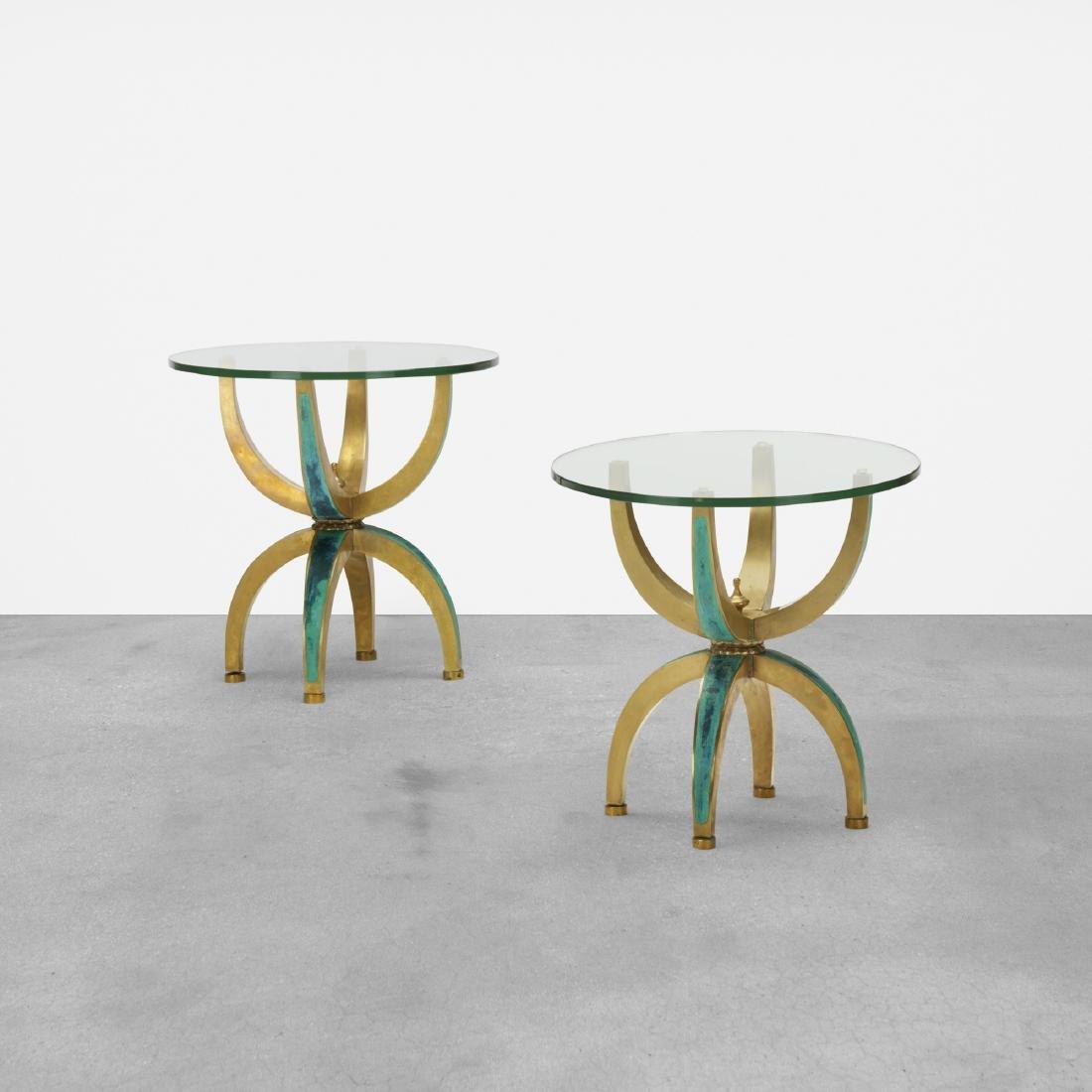 Pepe Mendoza, occasional tables, pair