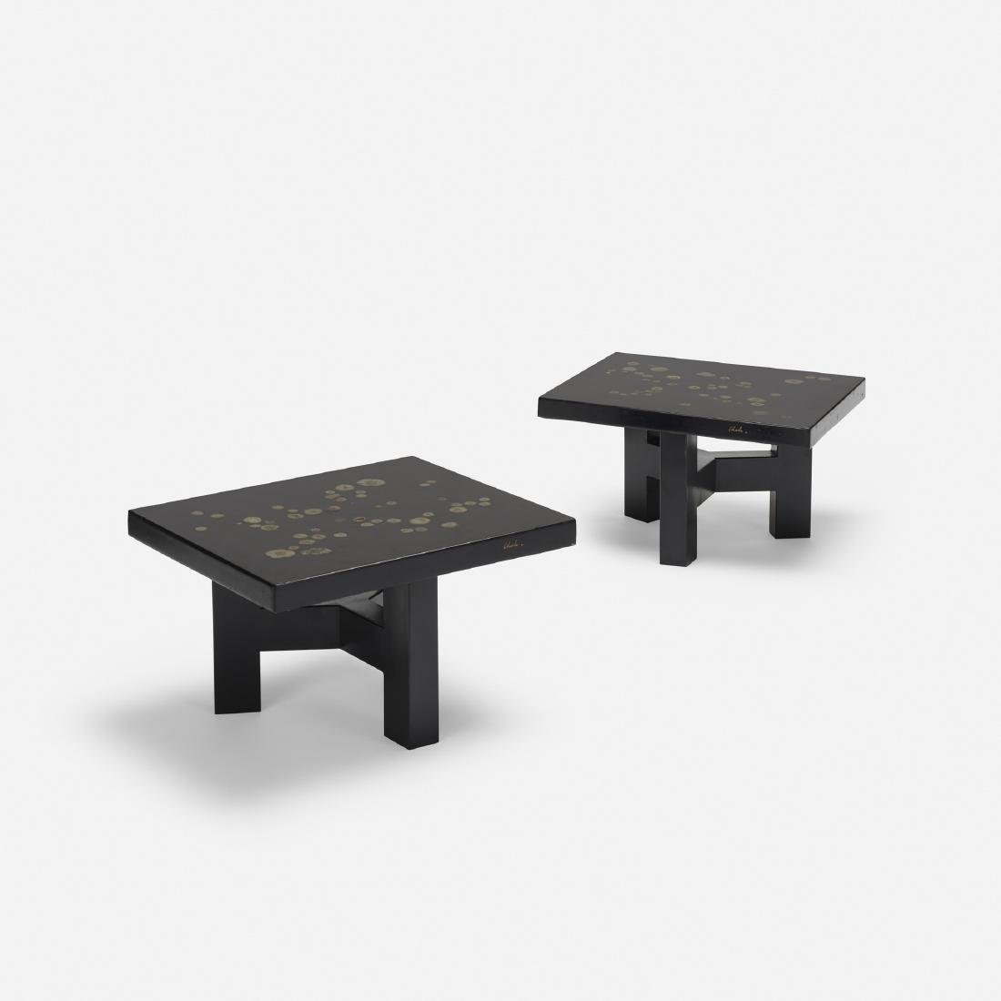 Ado Chale, coffee tables, pair