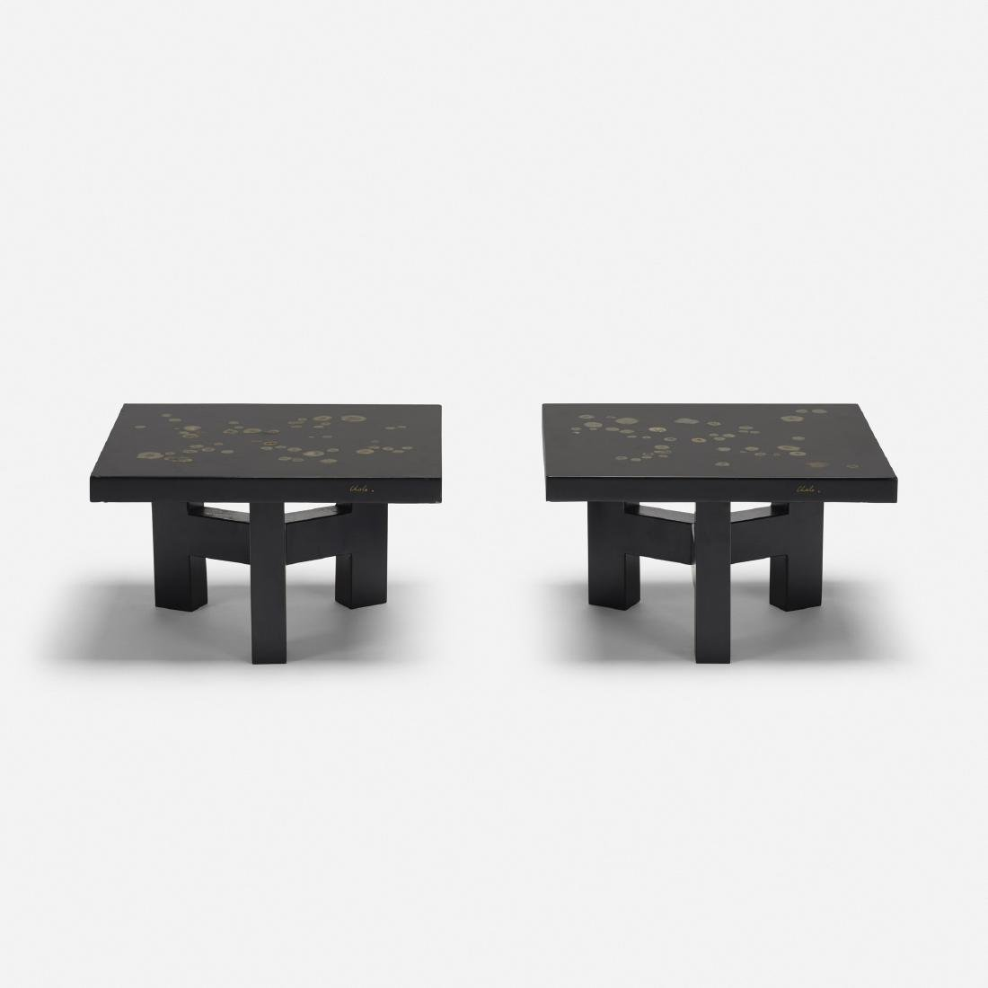 Ado Chale, coffee tables, pair - 2