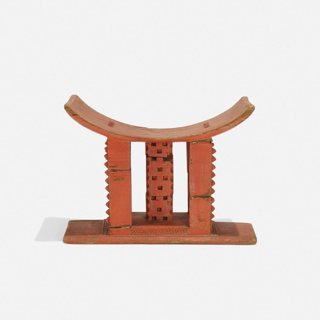 Tony Duquette, Untitled (African stool)