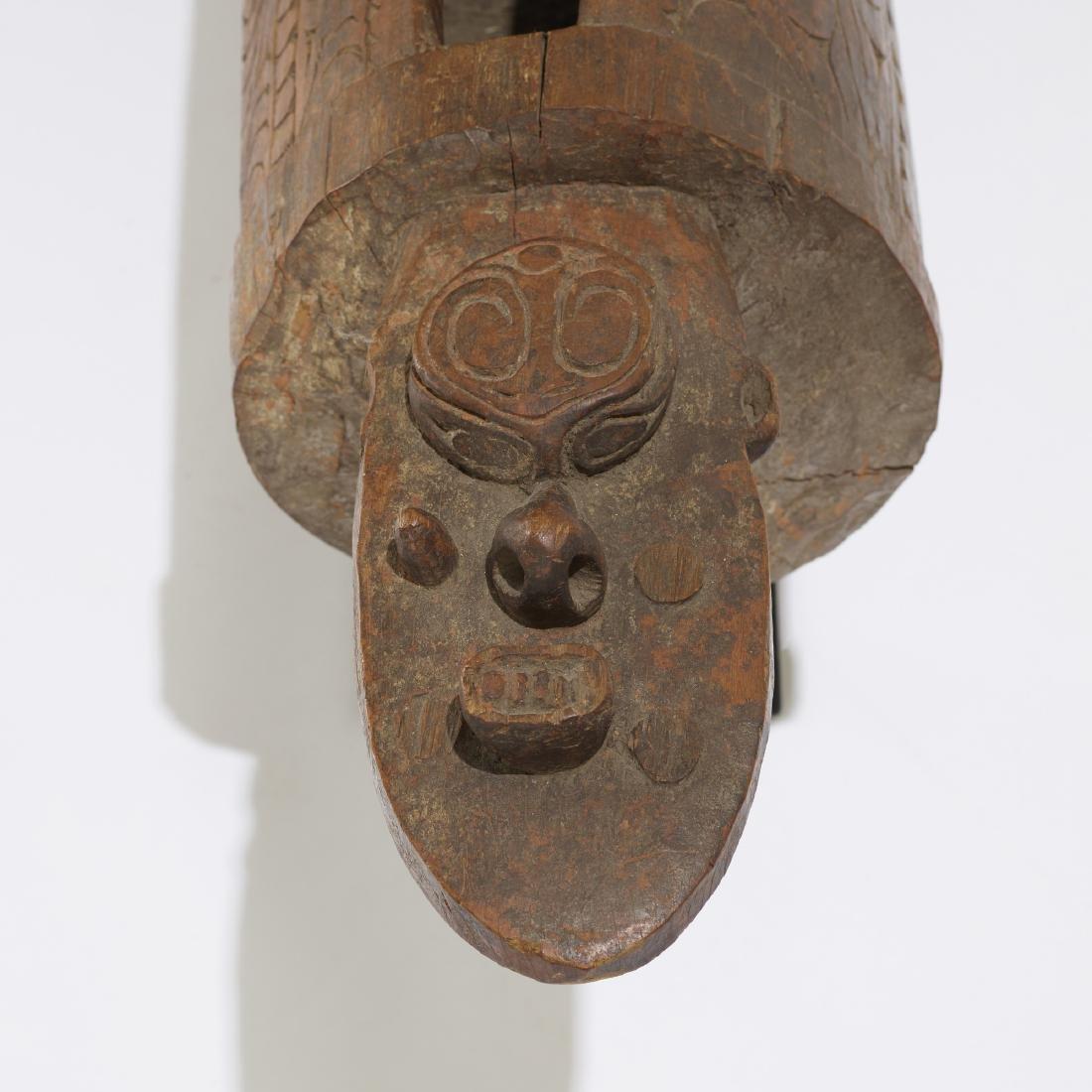 Papuan artist, Slit drum (garamut) - 3