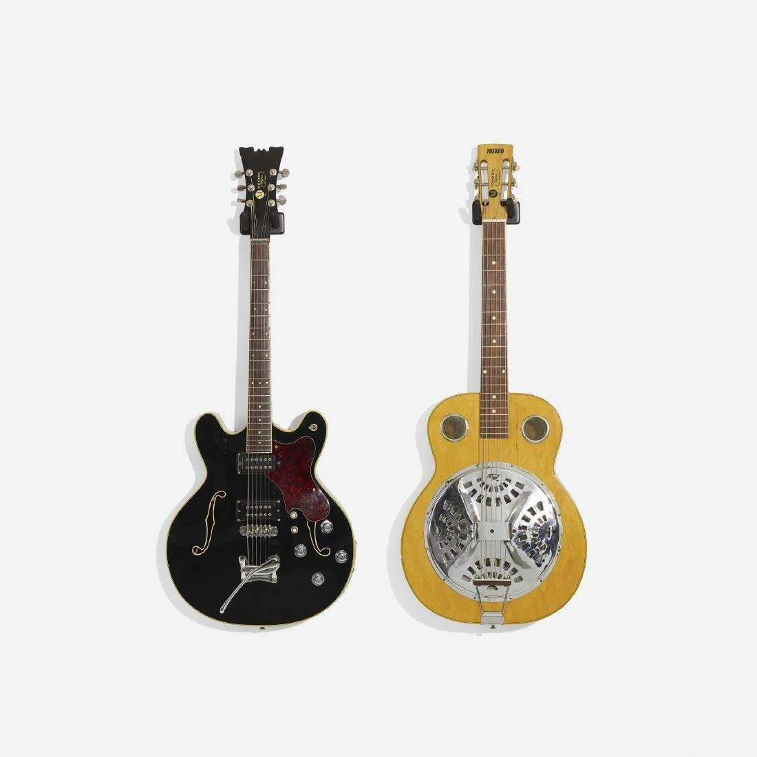 Mosrite, electric guitars, set of two