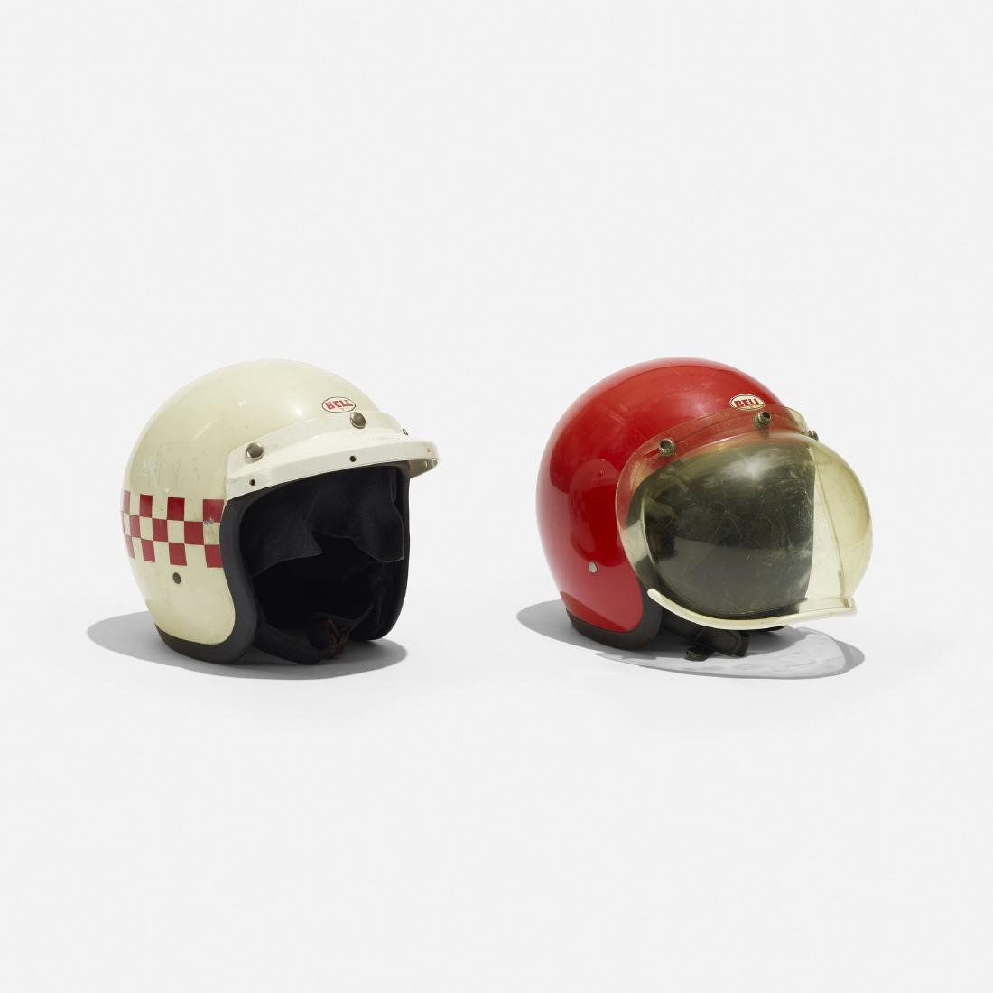Bell, motorcycle helmets, set of two - 2