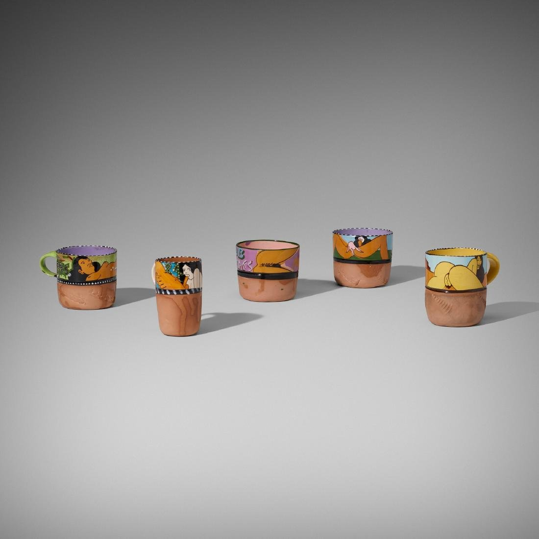 Ken Price, Erotic cups, set of five