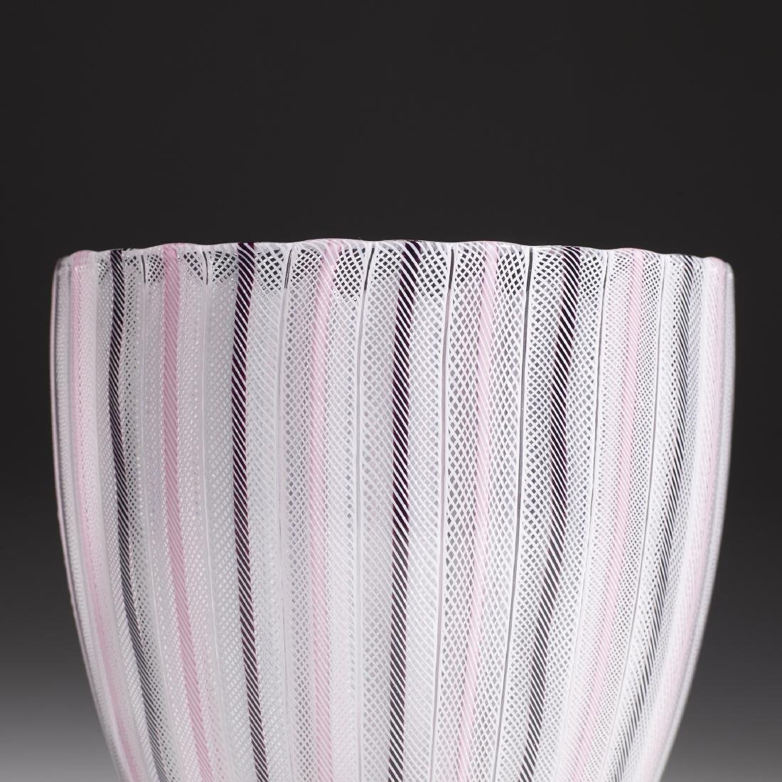 Paolo Venini, Zanfirico vase, model 3784 - 2
