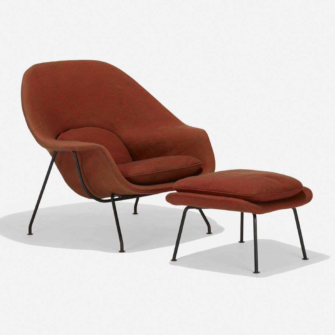 Eero Saarinen, Womb chair and ottoman