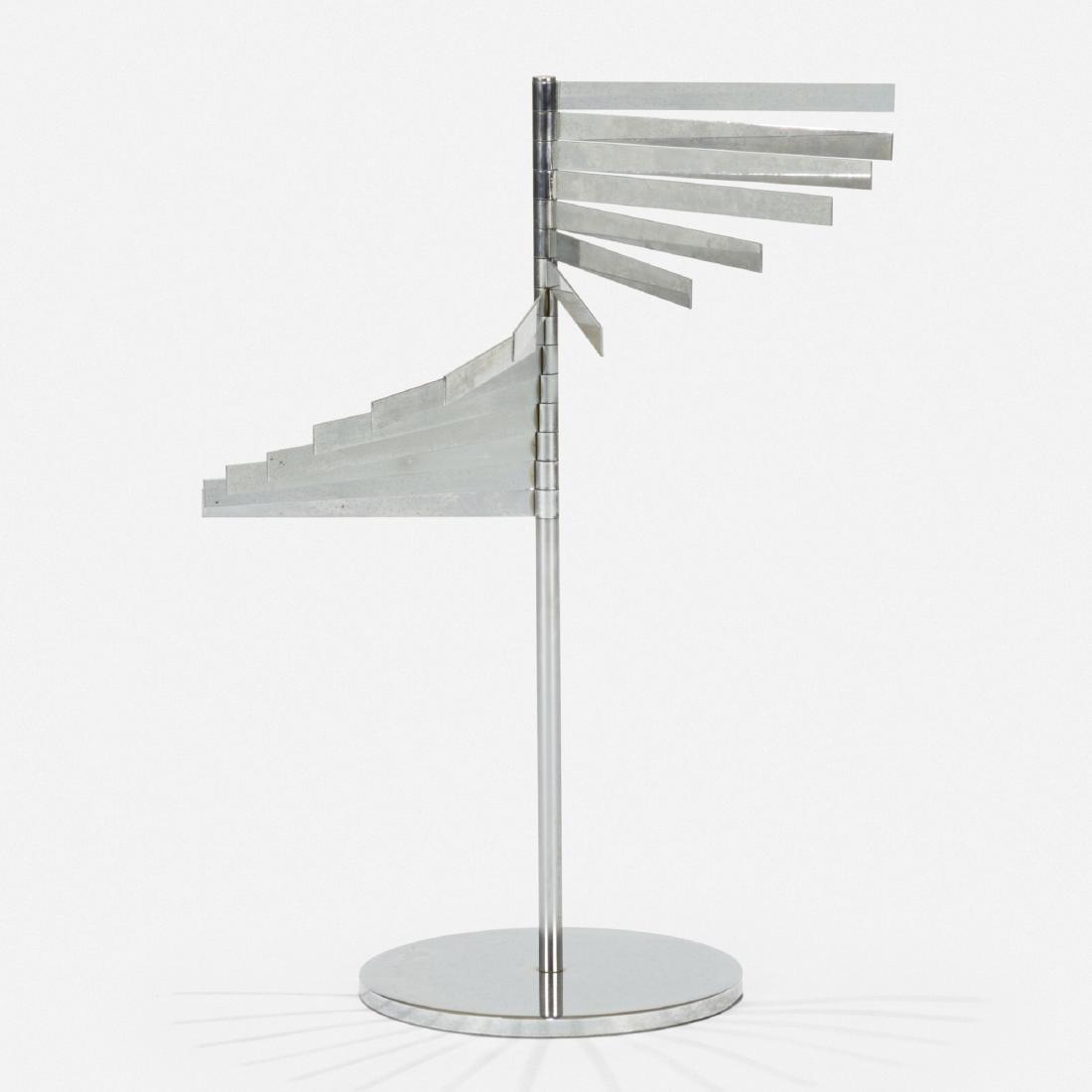 Hugh Acton, prototype magazine rack