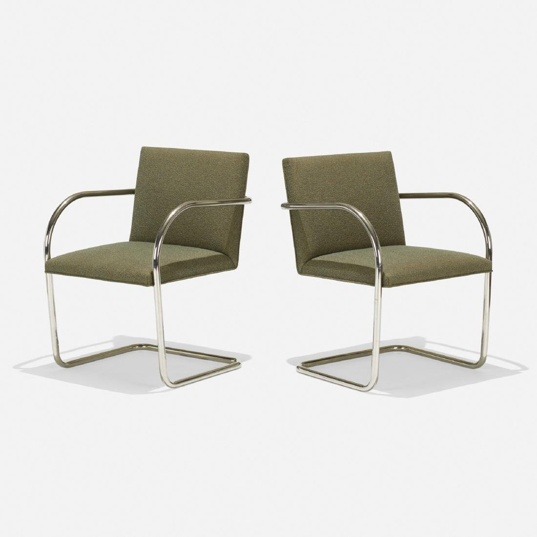 Ludwig Mies van der Rohe, Brno chairs, pair